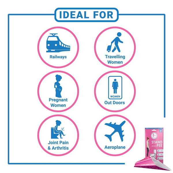 Sanfe Personal Hygiene and Sanitation Device for Female (10 piece)